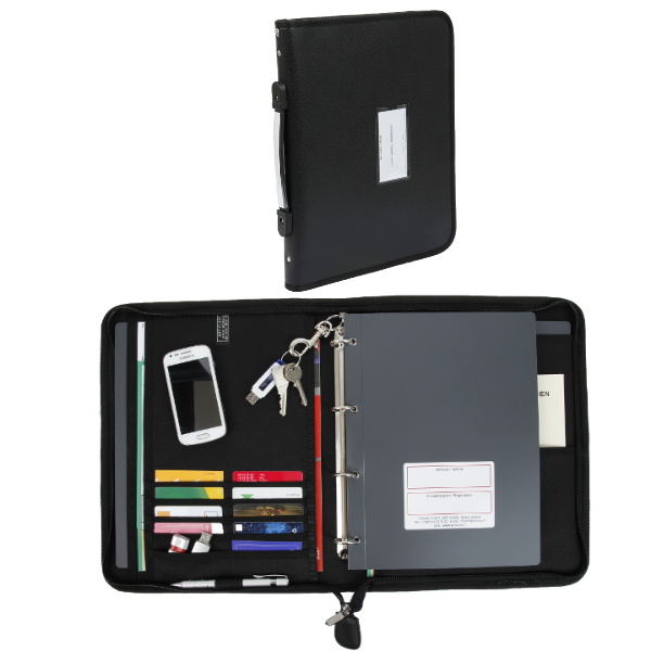 document-holder with flat handle
