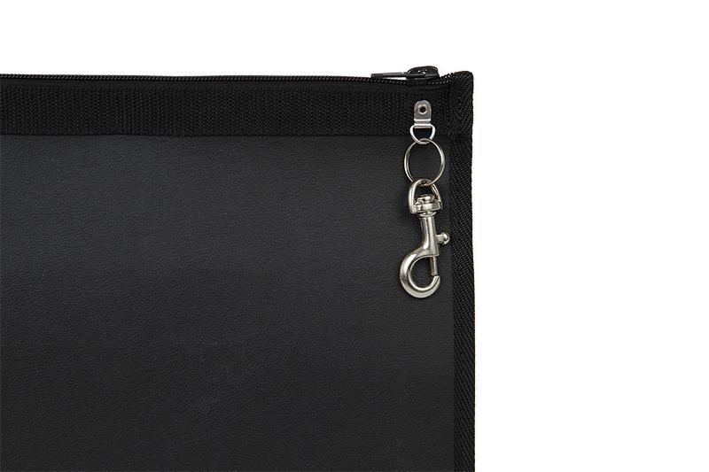 zoom carabiner clip briefcase