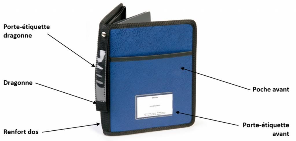 options exterieures des pochettes er porte-documents ARTCLASS